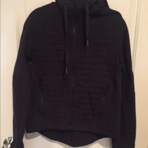 No hood Soft black lululemon hoodie. 3411e8df4